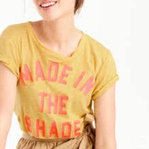 J. Crew Made In The Shade T-Shirt Medium V3747